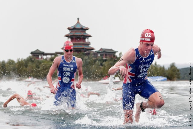 2011 ITU World Championship Grand Final at Shisanling Reservoir