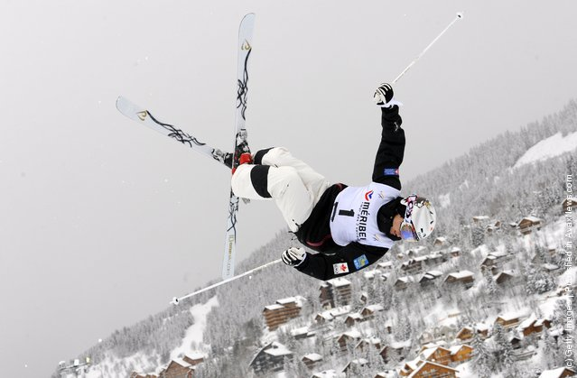 Mikael Kingsbury of USA  during the FIS Freestyle Ski World Cup Dual Moguls