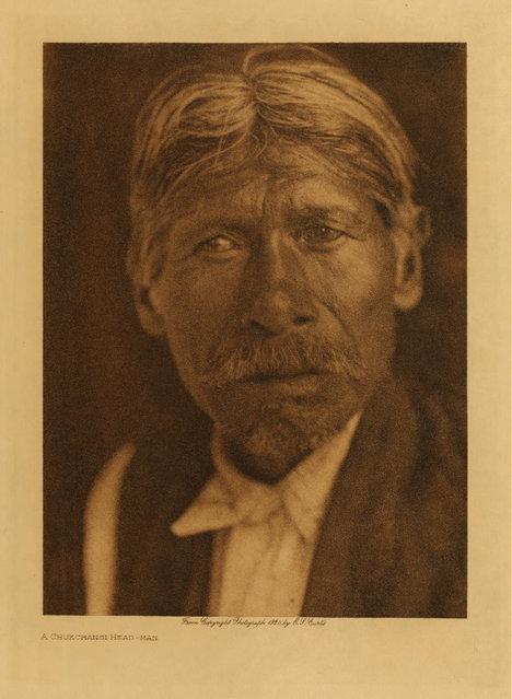 A Chukchansi man in 1924. (Photo by Edward S. Curtis)