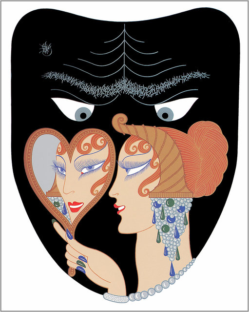 Romain de Tirtoff (Erte) – The Seven Deadly Sins: Envy