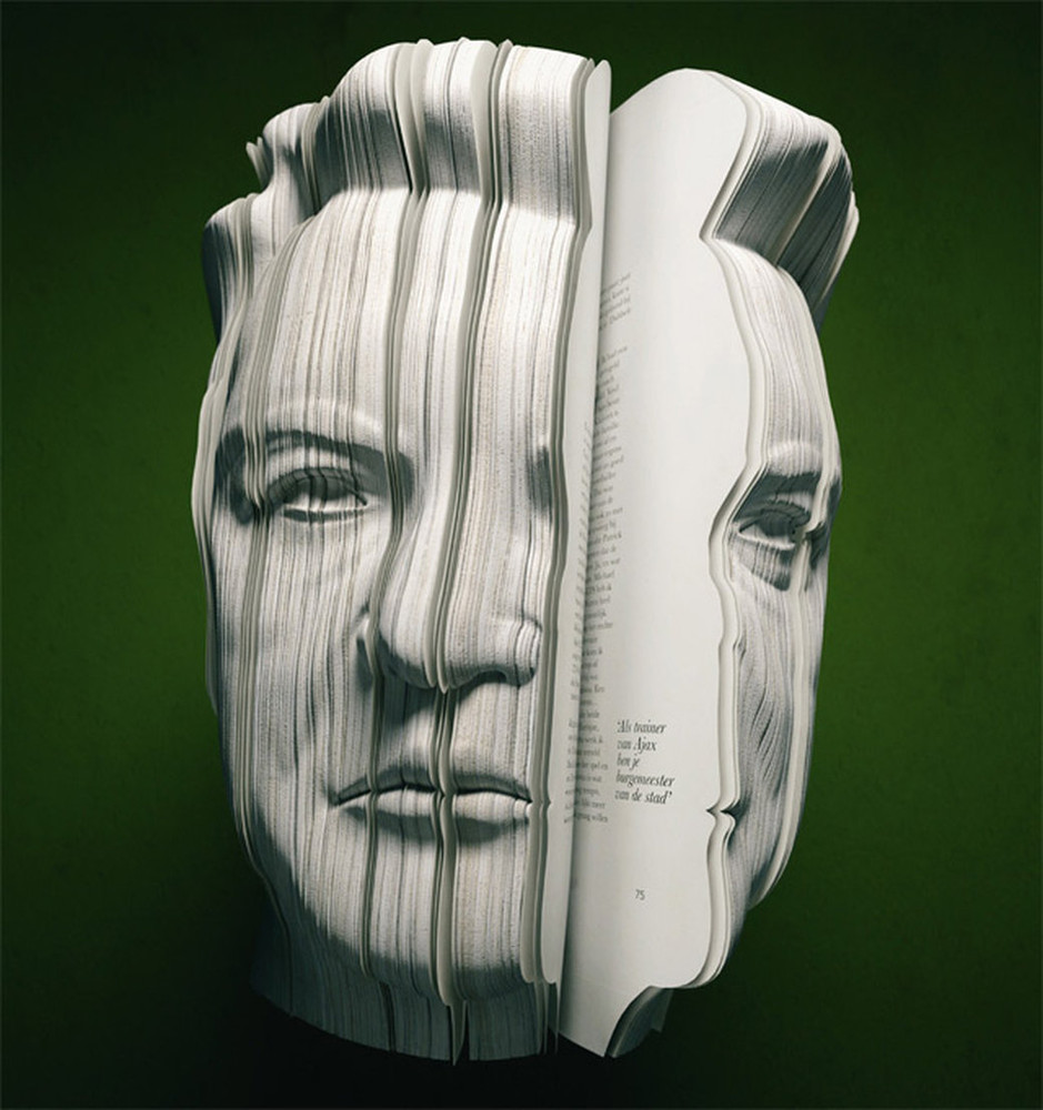 3D Written Portrait Books
