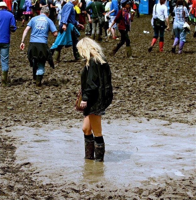 """Mud Maiden"". (Photo by Jo Monck)"