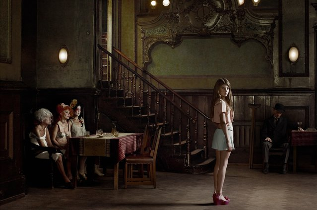«Berlin» Project. Clärchens Ballhaus Mitte, July, 10 2012. (Photo by Erwin Olaf/Hasted Kraeutler Gallery)