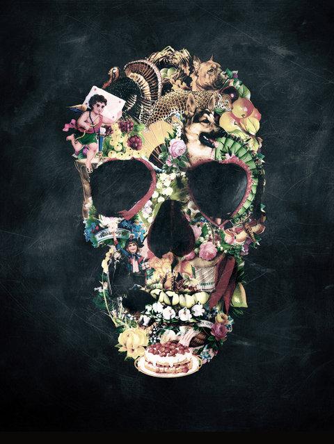 Skull Art By Ali Gulec