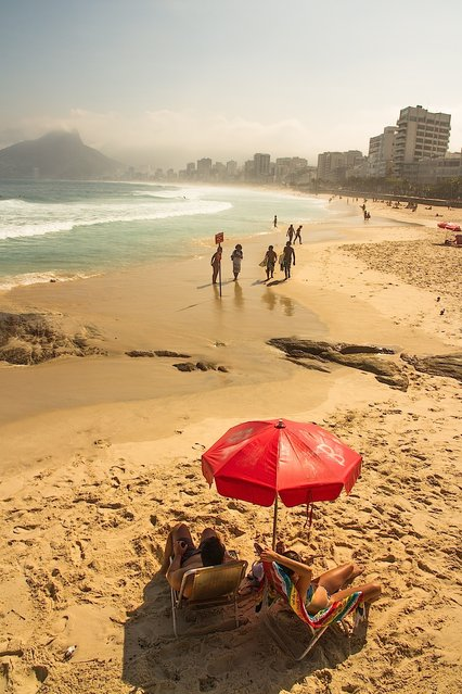 """Rio baby"". I am not a beach person, but this shot of Rio always inspires me. Location: Rio de Janeiro, Brazil. (Photo and caption by Amy Sacka/National Geographic Traveler Photo Contest)"