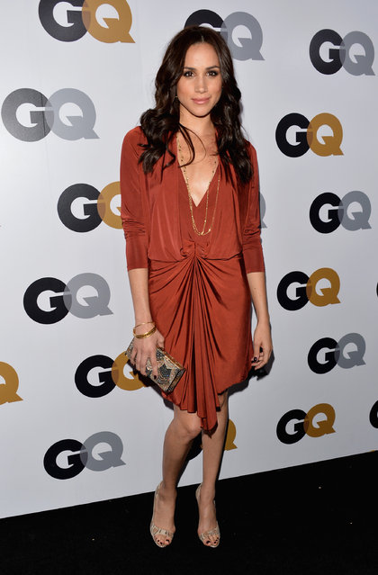 Actress Meghan Markle arrives at the GQ Men of the Year Party at Chateau Marmont on November 13, 2012 in Los Angeles, California. (Photo by Alberto E. Rodriguez/Getty Images)