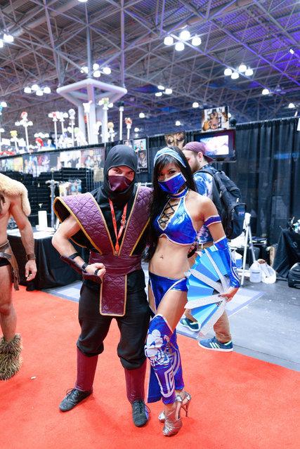 New York Comic Con/Anime Festival 2013. (Photo by Jonathan Keller)