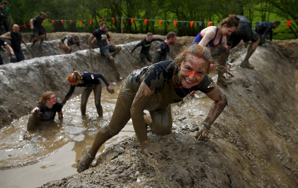 Tough Mudder Challenge in England