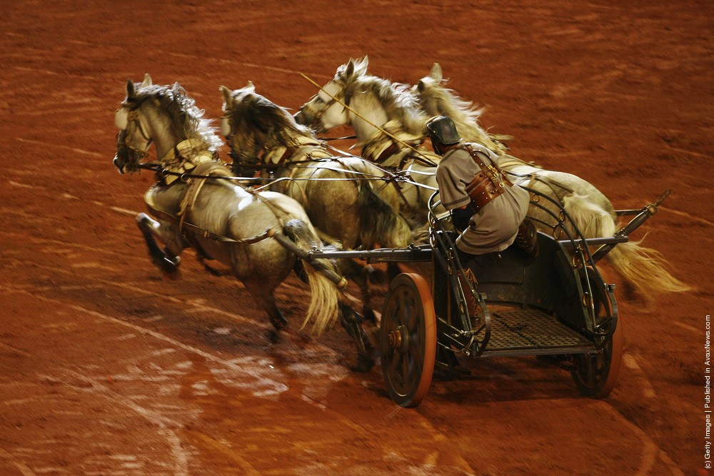Stage Production Of Ben-Hur At The Stade De France