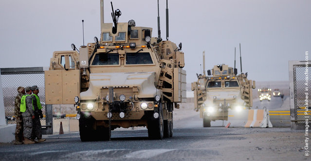 Last US Military Convoy Departs Iraq
