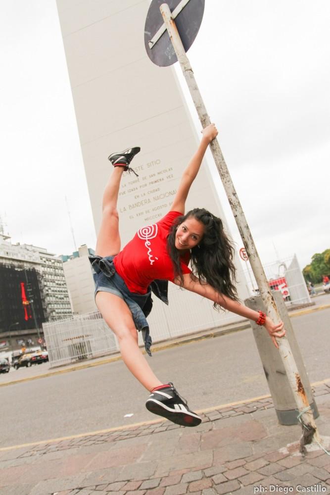 Street Pole Dancing