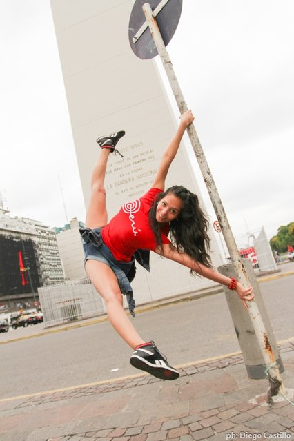 Fotos Pole Street Buenos Aires – Miss Pole Dance Argentina 2012. (Photo by Diego Castillo)