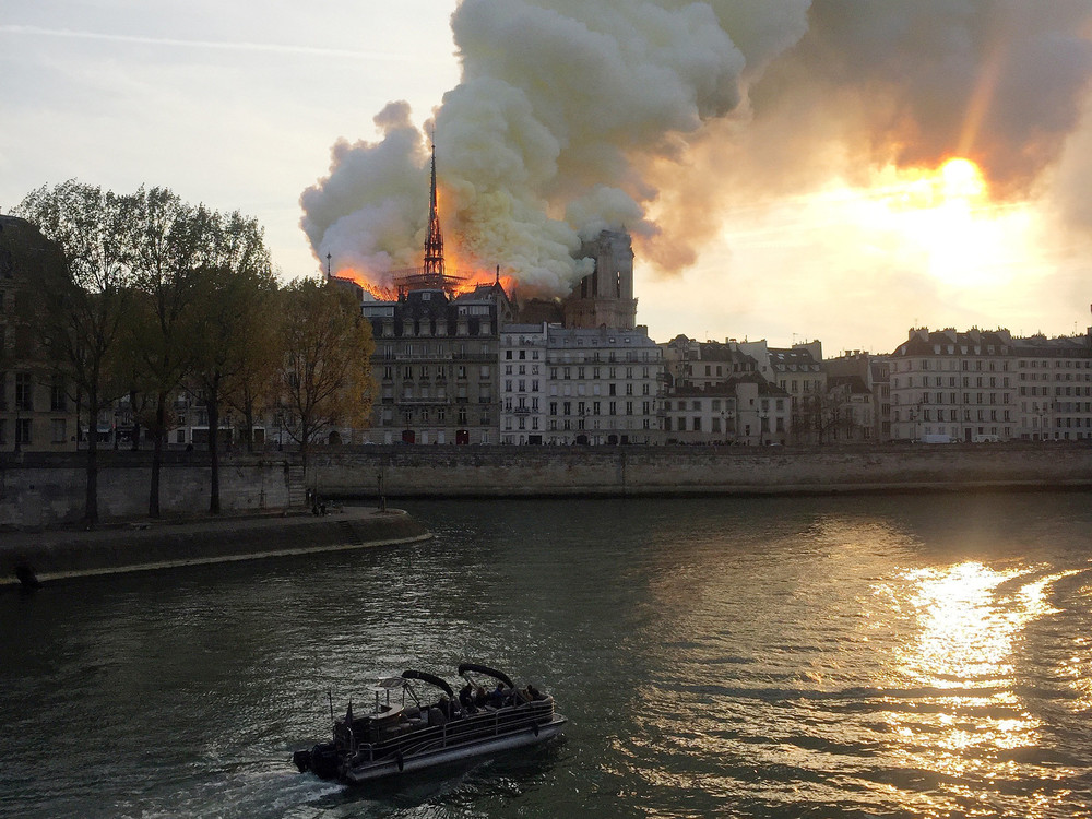 Notre-Dame Cathedral Burns