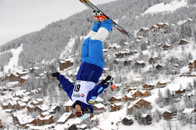 Hannah Kearney of USA  during the FIS Freestyle Ski World Cup Dual Moguls