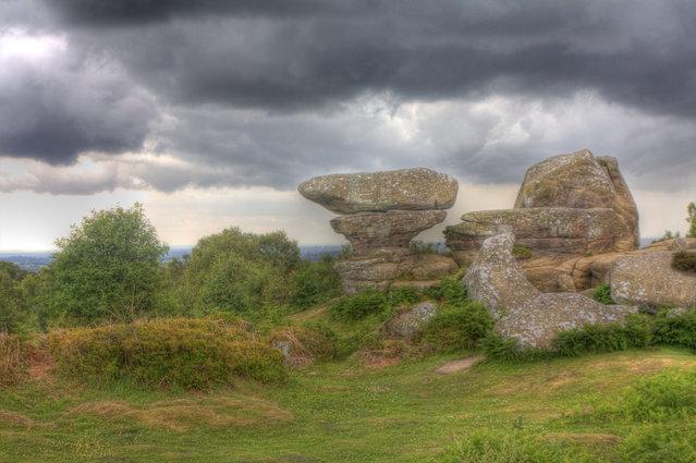 Brimham rocks, Nidderdale North Yorkshire, England
