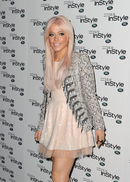 LONDON, ENGLAND - NOVEMBER 22:  Amelia Lily arrives at 'Film InStyle' in association with Land Rover celebrating InStyle Magazine's 10th Anniversary at The Sanctum Soho Hotel on November 22, 2011 in London, England.  (Photo by Gareth Cattermole)