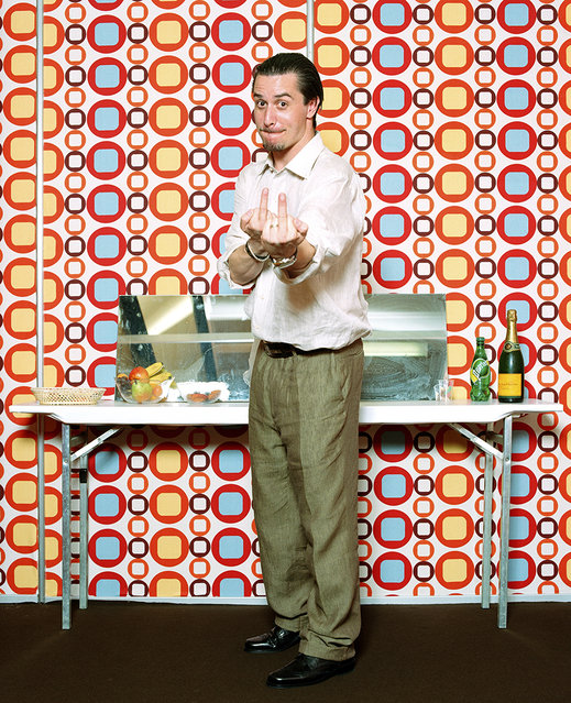 """""""The Moment After the Show"""": Mike Patton of Faith No More. (Photo by Matthias Willi/Olivier Joliat/The Moment After The Show)"""