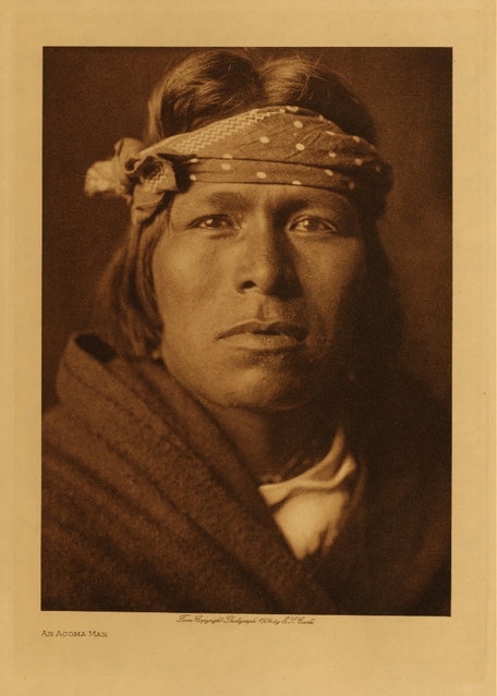 An Acoma man in 1904. (Photo by Edward S. Curtis)
