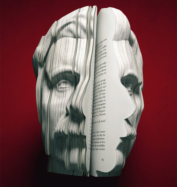 3D written portrait books