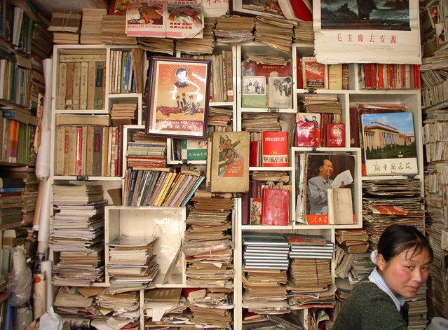 Maoist memorabilia shop in Hubei. (Photo by Tom Carter/The Atlantic)