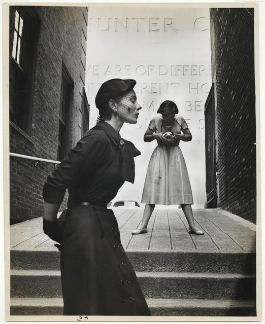 Bettina and Frances McLaughlin-Gill, New York, 1950. (Photo by The Gordon Parks Foundation)