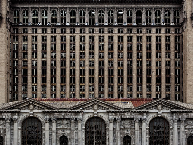 Michigan Central Station. (Photo by Yves Marchand/Romain Meffre)