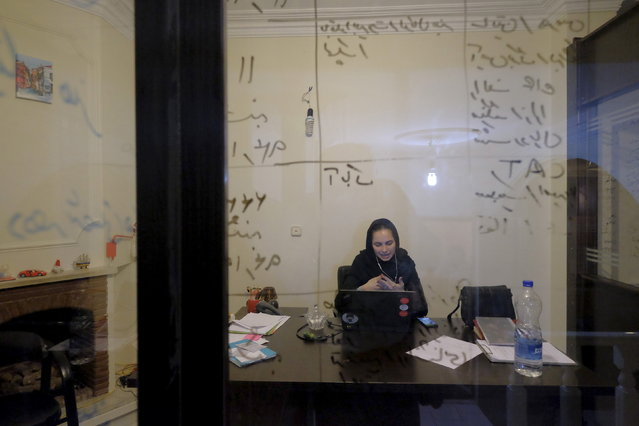 IRAN: An employee works at Takhfifan company in Tehran, Iran January 19, 2016. (Photo by Raheb Homavandi/Reuters/TIMA)