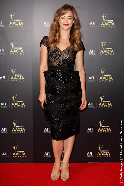 Cheree Cassidy arrives at the 2012 AACTA awards at the Sydney Opera House