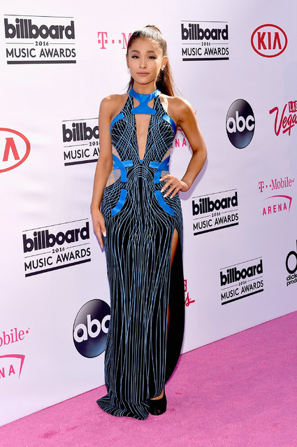 Singer Ariana Grande attends the 2016 Billboard Music Awards at T-Mobile Arena on May 22, 2016 in Las Vegas, Nevada. (Photo by David Becker/Getty Images)