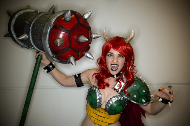 """emale Bowser aka Drisana """"Drizzy"""" Litke poses for a portrait during Denver Comic Con at the Colorado Convention Center on July 1, 2017, in Denver, Colorado. (Photo by Seth McConnell/The Denver Post)"""