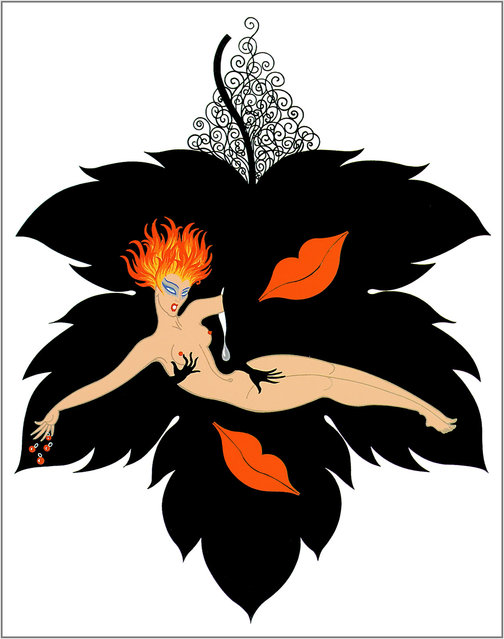 Romain de Tirtoff (Erte) – The Seven Deadly Sins: Lust