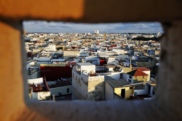 Rooftops of Rabat's Medina are seen from atop a hotel that is being reconstructed September 25, 2014. (Photo by Damir Sagolj/Reuters)