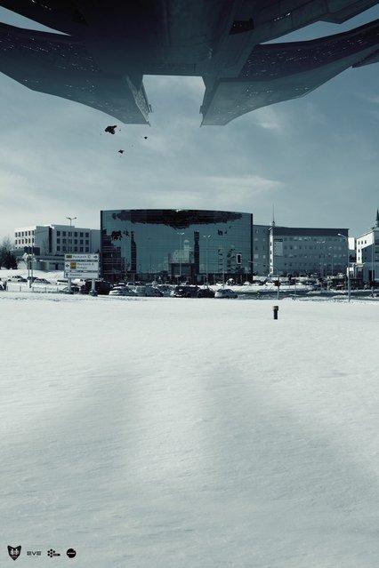 Reykjavik Invasion By Sig Vicious