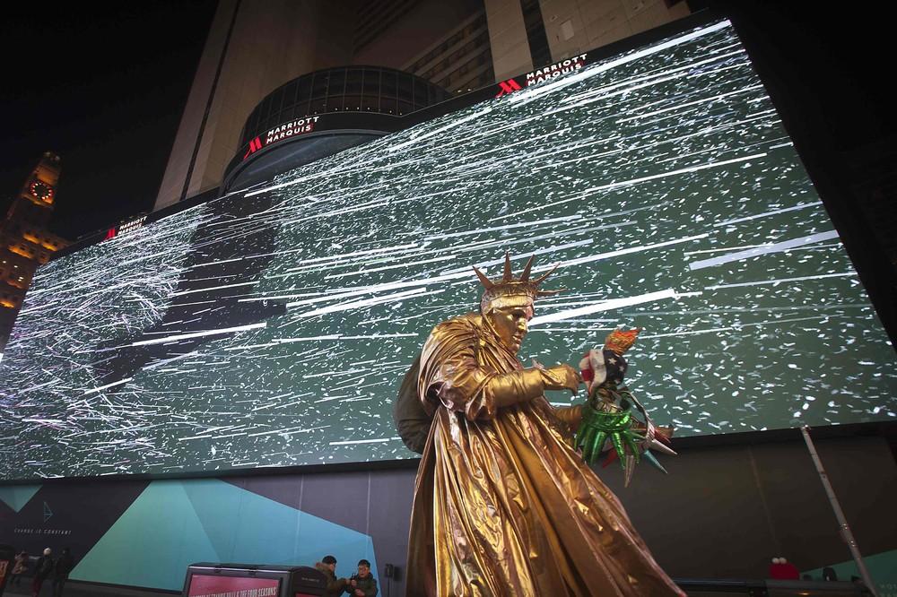 Google Rents World's Biggest Digital Billboard in Times Square