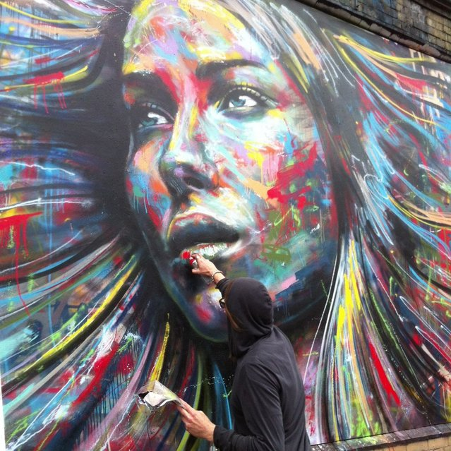 Spray Painting Art By David Walker