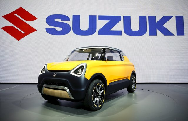 The Suzuki Mighty Deck concept car is seen at the 44th Tokyo Motor Show in Tokyo, Japan, October 28, 2015. (Photo by Thomas Peter/Reuters)