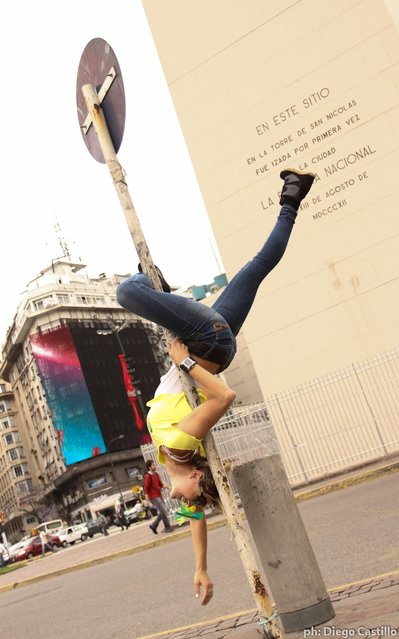 Fotos Pole Street Buenos Aires – Miss Pole Dance Argentina 2012. (Photo by Diego Castillo)
