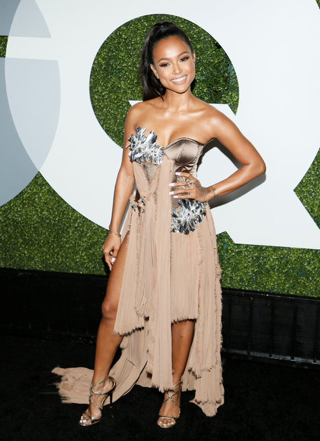 Model Karrueche Tran poses at the GQ Men of the Year Party in West Hollywood, California, December 8, 2016. (Photo by Danny Moloshok/Reuters)