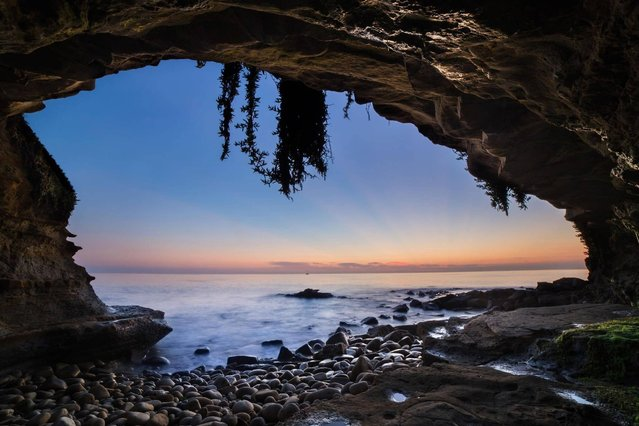 """Sunset Cliffs""; San Diego, USA. (Photo by Thomas Zagler/PA Wire)"