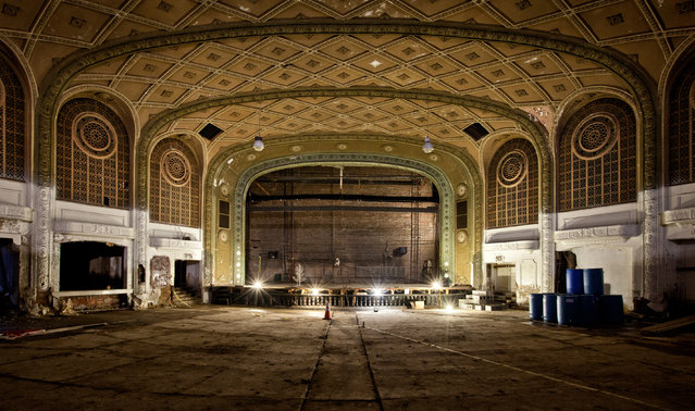 The Variety Theatre, Cleveland, Ohio. (Photo by Matthew Christopher/Caters News)