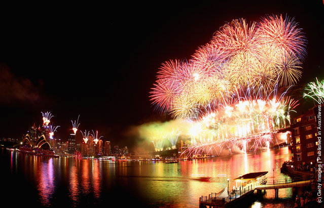 Sydney Celebrates New Years Eve