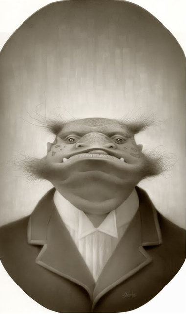 Travis Louie and The Strange Portraits