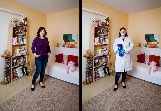 Aurelie is a chemist. (Photo by Bruno Fert/Picturetank)