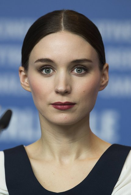 """Cast member Rooney Mara attends a news conference to promote the movie """"Side Effects"""" at the 63rd Berlinale International Film Festival in Berlin February 12, 2013. (Photo by Thomas Peter/Reuters)"""