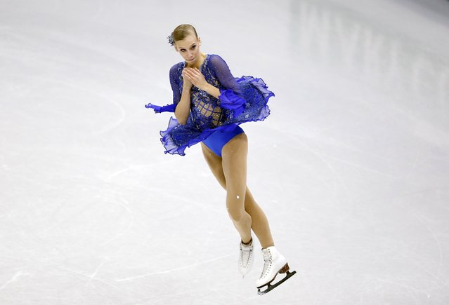 Polina Edmunds of the U.S. performs during the ladies' short programme competition at the ISU Four Continents Figure Skating Championships in Seoul February 13, 2015. (Photo by Kim Hong-Ji/Reuters)