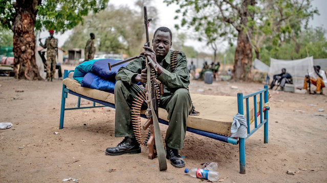 Malakal, Upper Nile State 650 km far from Juba, is under the controlled of rebels and defected SPLA soldiers loyal to former vice president Riek Machar in Malakal, South Sudan on March 4, 2014. (Photo by Mohammed Elshamy/Anadolu Agency/Getty Images)
