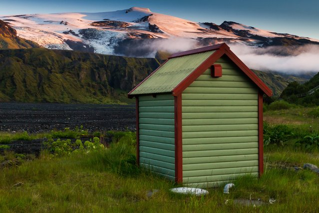 When Iceland's Eyjafjallajökull volcano last erupted in 2010, it filled the sky with smoke and emptied it of aircraft, grounding flights across Europe – something to contemplate from this campsite in Langidalur, Thorsmork. (Photo by John McIntire/Lonely Planet)