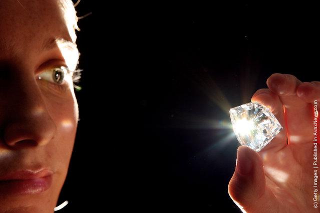 Diamond of 101.27 carats