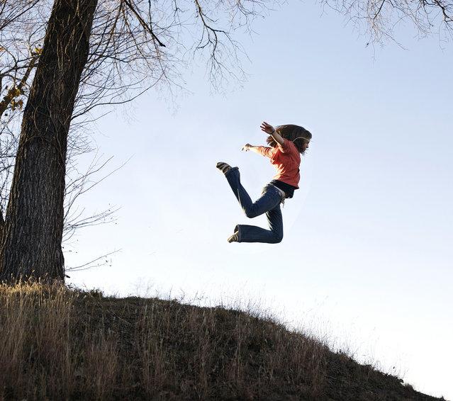 """Jumpology"". ""Brighter Days"". (Photo by Kristin Manson)"