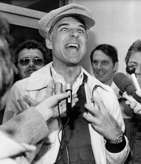 Comedian Steve Martin says he's sorry if he offended anyone by calling Terre Haute the most nowhere place in America in a recent Playboy interview, December 7, 1979, in Terre Haute, Indiana. (Photo by AP Photo)